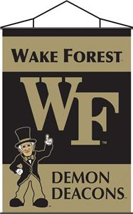 COLLEGIATE Wake Forest Indoor Banner Scroll