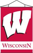 COLLEGIATE Wisconsin Indoor Banner Scroll