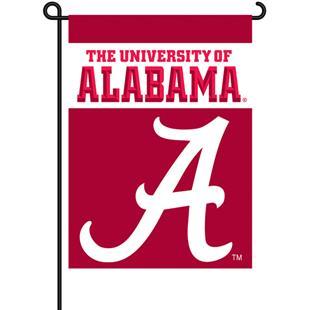 "COLLEGIATE Alabama 2-Sided 13"" x 18"" Garden Flag"