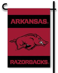 "COLLEGIATE Arkansas 2-Sided 13"" x 18"" Garden Flag"