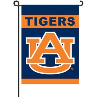 """COLLEGIATE Auburn 2-Sided 13"""" x 18"""" Garden Flag"""