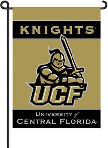 """COLLEGIATE Central Florida 13"""" x 18"""" Garden Flag"""