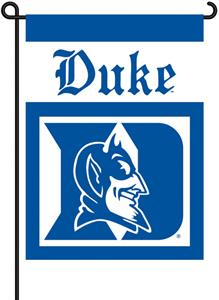 "COLLEGIATE Duke 2-Sided 13"" x 18"" Garden Flag"