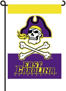 "COLLEGIATE East Carolina 13"" x 18"" Garden Flag"