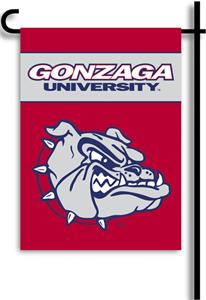 "COLLEGIATE Gonzaga 2-Sided 13"" x 18"" Garden Flag"