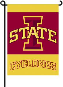 "COLLEGIATE Iowa St. 2-Sided 13"" x 18"" Garden Flag"