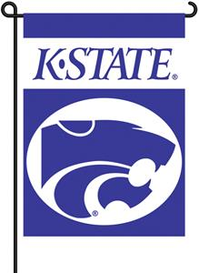 "COLLEGIATE Kansas State 13"" x 18"" Garden Flag"