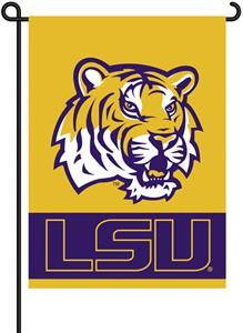 "COLLEGIATE LSU 2-Sided 13"" x 18"" Garden Flag"