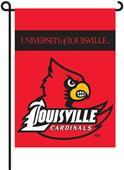 """COLLEGIATE Louisville 13"""" x 18"""" Garden Flag"""