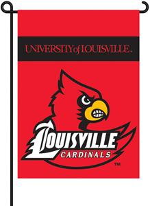 "COLLEGIATE Louisville 13"" x 18"" Garden Flag"