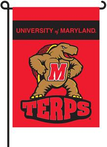 "COLLEGIATE Maryland 2-Sided 13"" x 18"" Garden Flag"