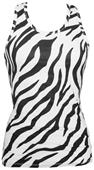 Boxercraft Womens/Girls Zebra Practice Racer Tanks