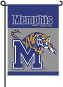 """COLLEGIATE Memphis 2-Sided 13"""" x 18"""" Garden Flag"""
