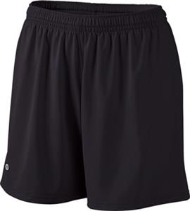 Holloway Ladies Hustle Micro-Interlock Shorts
