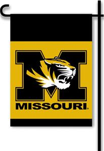 COLLEGIATE Missouri 2-Sided 13&quot; x 18&quot; Garden Flag