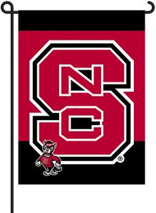 COLLEGIATE NC State 2-Sided 13&quot; x 18&quot; Garden Flag