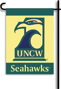 COLLEGIATE UNC Wilmington 13&quot; x 18&quot; Garden Flag