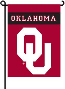 "COLLEGIATE Oklahoma 2-Sided 13"" x 18"" Garden Flag"