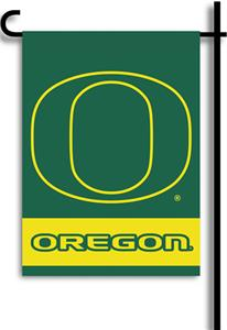 COLLEGIATE Oregon 2-Sided 13&quot; x 18&quot; Garden Flag