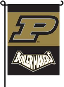 COLLEGIATE Purdue 2-Sided 13&quot; x 18&quot; Garden Flag