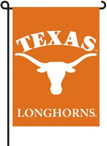 "COLLEGIATE Texas 2-Sided 13"" x 18"" Garden Flag"