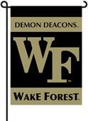 """COLLEGIATE Wake Forest 13"""" x 18"""" Garden Flag"""
