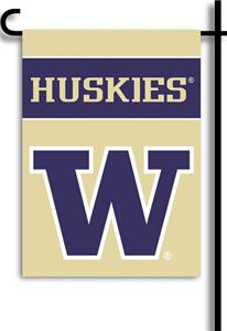 "COLLEGIATE Washington 13"" x 18"" Garden Flag"