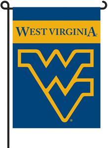 "COLLEGIATE West Virginia 13"" x 18"" Garden Flag"