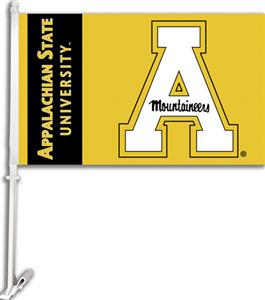 COLLEGIATE Appalachian State 11&quot; x 18&quot; Car Flag