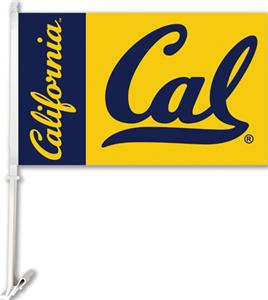 "COLLEGIATE Cal 2-Sided 11"" x 18"" Car Flag"