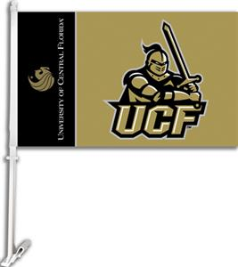 "COLLEGIATE Central Florida 11"" x 18"" Car Flag"