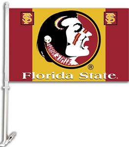 COLLEGIATE Florida St. 2-Sided 11&quot; x 18&quot; Car Flag