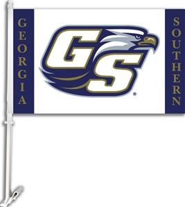 "COLLEGIATE Georgia Southern 11"" x 18"" Car Flag"