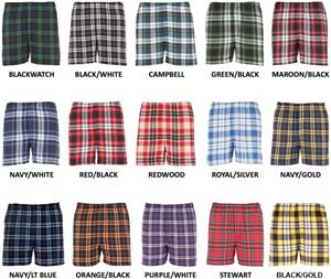 Boxercraft Boys Classic Flannel Boxer Shorts
