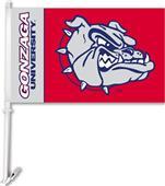 """COLLEGIATE Gonzaga 2-Sided 11"""" x 18"""" Car Flag"""