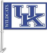"COLLEGIATE Kentucky 2-Sided 11"" x 18"" Car Flag"