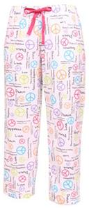 Boxercraft Womens Fashion Peace Flannel Pants