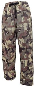 Boxercraft Youth Fashion Camo Flannel Pants