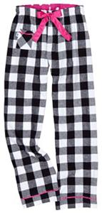 Boxercraft Girl's Plaid V.I.P Flannel Pants