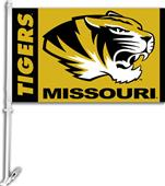 "COLLEGIATE Missouri 2-Sided 11"" x 18"" Car Flag"