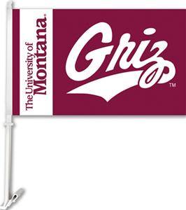 COLLEGIATE Montana 2-Sided 11&quot; x 18&quot; Car Flag