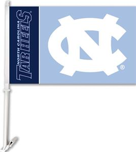 "COLLEGIATE North Carolina 11"" x 18"" Car Flag"