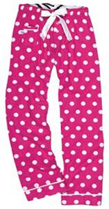 Boxercraft Women's Spotted V.I.P Flannel Pants