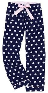 Boxercraft Girl's Spotted V.I.P Flannel Pants