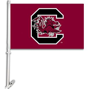 "COLLEGIATE South Carolina 11"" x 18"" Car Flag"