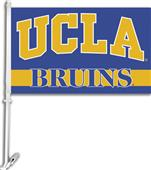 "COLLEGIATE UCLA 2-Sided 11"" x 18"" Car Flag"