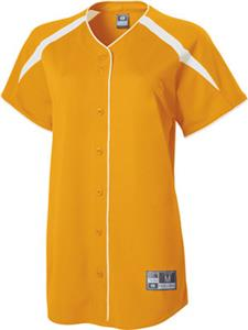 Holloway Blaze Faux Full Button Softball Jersey