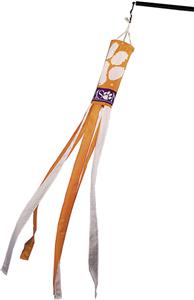 COLLEGIATE Clemson Windsock w/Streamers
