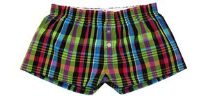 Womens Patterns Cotton Bitty Boxer Shorts
