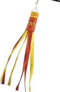 COLLEGIATE Iowa State Windsock w/Streamers
